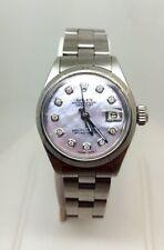 Rolex Datejust Stainless Steel Diamond Ladies Watch (4812)