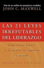 Las 21 leyes irrefutables del liderazgo: Follow Them and People Will-ExLibrary