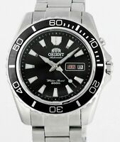 ORIENT Mako XL Stainless Steel Mens Wrist Watch New Old Stock