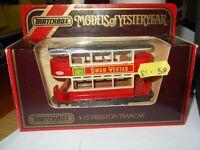MATCHBOX MODELS OF YESTERYEAR - Y-15 Tramway Preston