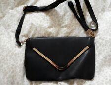 Señoras Negras Clutch Bag