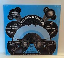 "THE DFA Remixes Chapter Two 2x12"" VINYL LP Sealed LCD Soundsystem Goldfrapp Tiga"