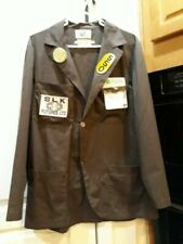 Furniture SLK Moving Company Working brown shirt w pockets badges patches & pins