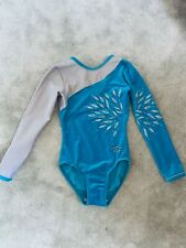 Zone girls velour gymnastics leotard size 28