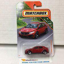 '17 Honda Civic Hatchback * RED * 2019 Matchbox Case L