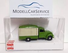 Busch 1/87 : 52000 Framo V901/2 Carro de Maletas, Verde / Beige