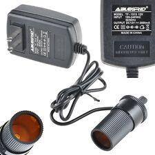 AC 110-220 to 12 Volt 12V 2A Car Charger Cigarette Lighter Socket Power Adapter
