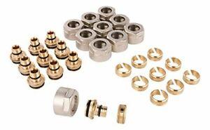 WIROFLEX | Klemmring-Adapter für Wiroflex-Rohr | 10er Set | Schraubsystem |
