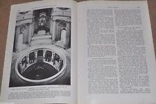 1936 PARIS magazine article Paris France, pre-WWII, Paris in the Spring