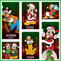 Disney Collect Topps - ICONS CHRISTMAS SET + AWARD