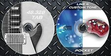 12.232 Patches Line6 Pocket POD Multi Effects Processor. & 48.328 Guitar Tab
