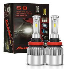 LED Headlight Kit H11 H8 H9 80W 12000LM Plug&Play Pair Bulbs CREE 6500K White