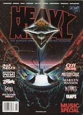 Dan Fogler Autograph - Heavy Metal Magazine - Signed also by Ian Edginton -AFTAL