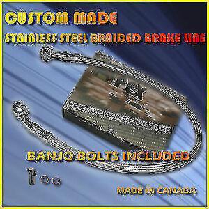 HONDA CBR600F3 SUPER SPORT CUSTOM STAINLESS  BRAKE LINE
