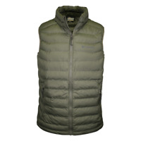 Columbia Men's Olive White Out Omni-Heat Puffer Vest (316)