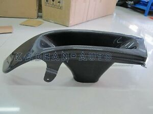 CARBON FIBER LHS VENTED HEADLIGHT AIR INTAKE REPLACEMENT FOR EVO 5-6