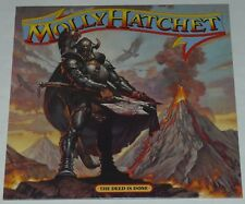 Molly Hatchet The Deed Is Done LP New SPV 2013 reissue vinyl edition New
