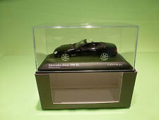 MINICHAMPS  1:43 MERCEDES BENZ 500 SL - GOOD CONDITION IN BOX - DEALER EDITION.