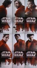 STAR WARS THE LAST JEDI 2 PANELS POSTERS SET - VERY RARE ORIGINAL MOVIE POSTERS