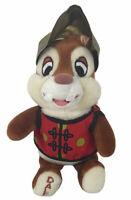 """Walt Disney World Chinese Dale Chipmunk Plush Stuffed Animal Bean Bag 8"""" long"""