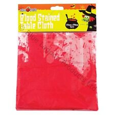 Halloween Bloody Table Cloth Blood Stained Trick or Treat Fancy Vampire Party