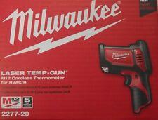MILWAUKEE 2277-20 M12 12 Volt Cordless Laser Temp-Gun Thermometer HVAC/R
