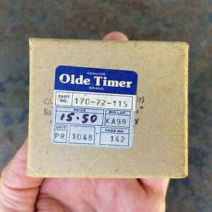 "Cuckoo Clock Bellows Unused, Horizontal 2 1/2"", German Clock Restoration Parts"