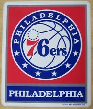 Window Bumper Sticker NBA Basketball Philadelphia 76ers NEW