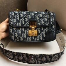 Secondhand Women Christian Dior Shoulder Bag Handbag 24*16*8 cm
