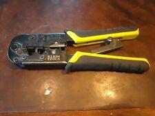 Klein Tools Vdv226 011 Rj45 Crimp Tool 4 6 Or 8 Pin Ratcheting