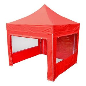 Quality easy pop up marquee, trade stand, gazebo - equestrian, sports - 3m x 3m