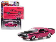 1970 DODGE CHALLENGER T/A BFGOODRICH VINTAGE AD CARS PINK 1/64 GREENLIGHT 29943