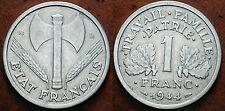 1944  France  1  Franc  Bazor