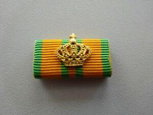 Hollandmarsch  Marsch Ordensspange mit Auflage Krone gold Nijmegenmarsch