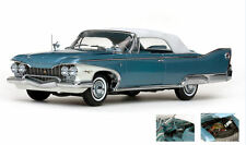 Plymouth Fury Closed Convertible 1960 Metallic Blue w/ White Roof 1:18 Model