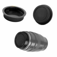 Black Rear Lens Cap Cover Protector for Canon Rebel EOS EFS EF EF-S EF DSLR SLR