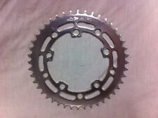 Silver 44T GT WINGED LOGO USA CHAIN RING Old School BMX 44 Tooth Wheel Sprocket