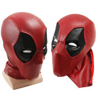 Deadpool Faceshell with Lens Lenses Deadpool Fabric Mask for Deadpool Costume