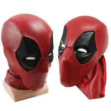Deadpool Faceshell with Lens Lenses Deadpool Fabric Mask for Deadpool Costume