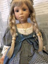 """Christine Kleinert 1996 Zapf Collectible Doll 24"""" Vinyl Mint in Box"""