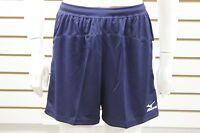 Women Mizuno DryLite Lightweight Performance Volleyball Short Navy/White 440308