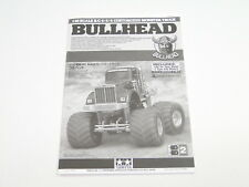 NEW TAMIYA BULLHEAD Manual SUPER TD7
