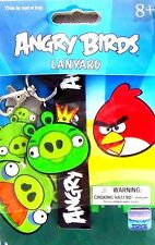 NEW! Angry Birds Movie Green Pig Crown Lanyard Long Chain Holder SUPER CUTE~