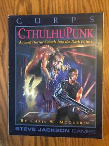 GURPS CTHULHUPUNK RPG Steve Jackson Games 1995 1st print