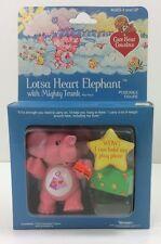 Kenner 1985 Lotsa Heart Elephant Care Bear Cousins Poseable Figure New in Box