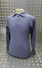 Genuine Vintage Military Issue Nordic Cold Weather Airtex L/ Sleeve BlueGrey Top