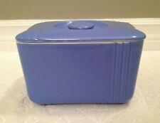 Vintage Hall China Co 1938+; Phoenix-Ln Delphinium-Bl Westinghouse Refrig-Dish
