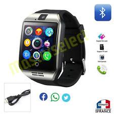 Smartwatch montre connectée avec téléphone bluetooth carte puce sim microsd Q18