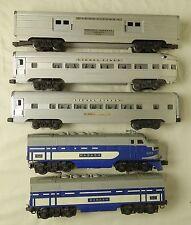 Lionel Post-War #2244W Original Wabash A/B Diesel Passenger Set-Vg In Box!