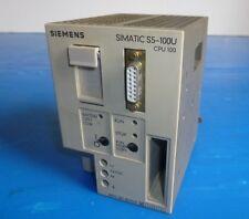 Siemens Simatic S5-100U CPU 100 Rechg.m. Mwst. 6ES5 100-8MA01 6ES5100 8MA01